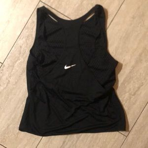 Nike workout tank with mesh